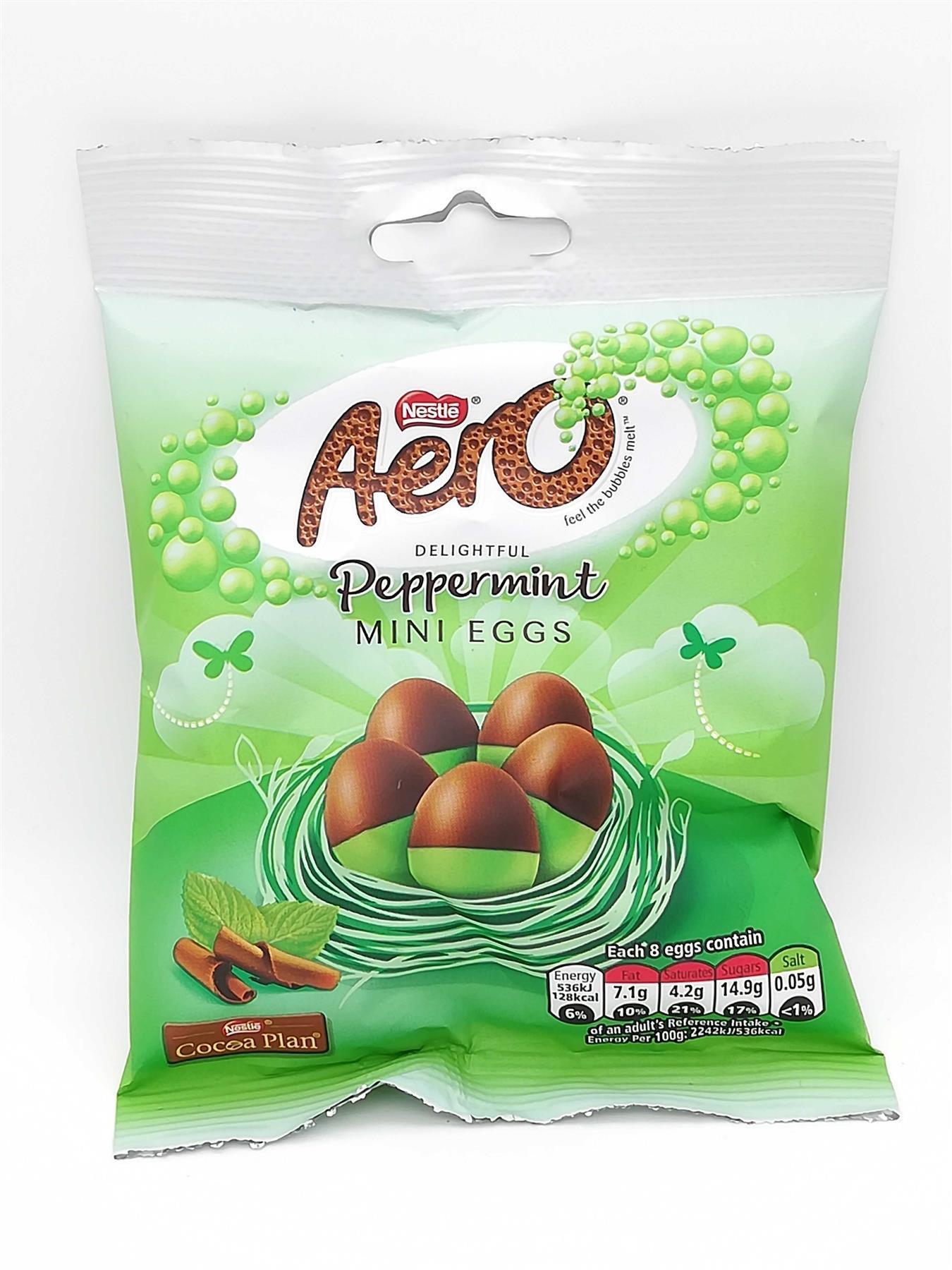 Aero Peppermint mini eggs 25p @ Tesco