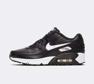 Nike Air Max 90 Leather Trainers Now £54.99 older kids / small adult sizes 3 - 6 @ Footasylum