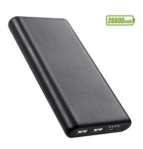 iPosible Power Bank 26800mAh [Newest Version] Portable Charger Battery Pack - £16.99 + £4.49 NP @ iposibledirect and Fulfilled by Amazon