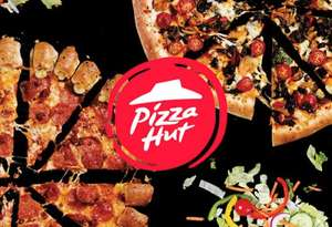 Buy one pizza get one free or any size pizza £9.99 with codes (min spend for delivery £13.99) @ Pizza Hut (delivery)