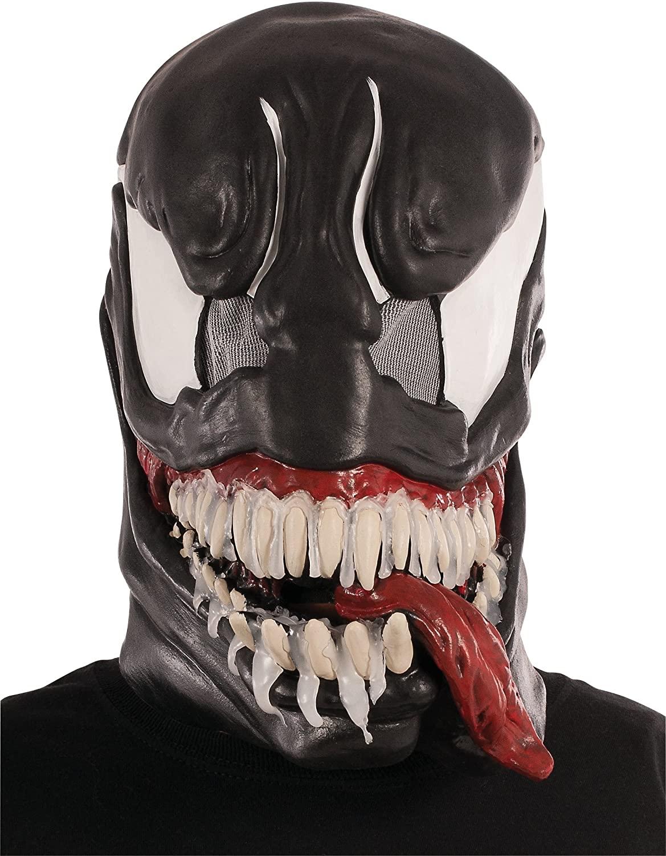 Rubies Masquerade Co Venom: Adult 3/4 Mask (Latex) £9.99 + £2 deliverey @ Forbidden Planet