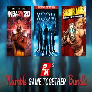 Humble 2Ks Game Together Bundle - From £1 - Humble Store