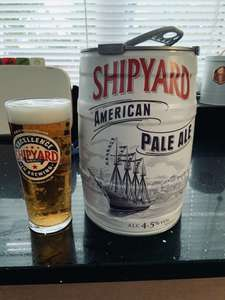 Shipyard APA (Out of Stock now) Hobgoblin Gold 5 Litre Mini Keg £11.99 in stock instore @ B&M Portsmouth