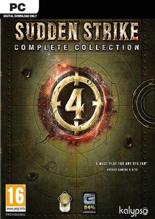Sudden Strike 4 - Complete Collection PC - £11.99 @ CDKeys.com