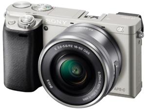 Sony Alpha a6000 & 16-50mm PZ Lens - Silver - £349(refurb) @ eBay / cameracentreuk