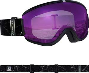 Salomon Ivy Ruby Women's Snowboard/Ski Goggles, S/M Black Marble Condition Used - Like New £17.96 (+£4.49 Non Prime) @ Amazon Warehouse