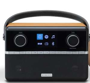 Dab, internet radio and bluetooth with free smart clock - £199 @ Roberts Radio