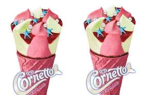 Yummy! Cornetto Mermaid 4x90ml - £2 @ Sainsburys (Min Basket £60 Plus £7 Delivery)