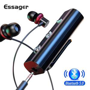 Bluetooth 5 receiver - £3.15 delivered @ Aliexpress / AliExpress ESSAGER Official Store