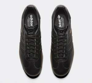 Black leather Adidas gazelles £44.99 free delivery at Schuh.