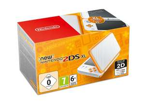 2ds XL White & orange £92.62 delivered at Amazon Germany