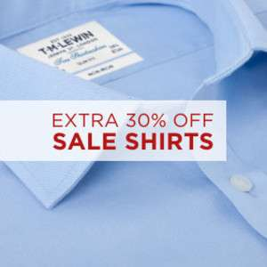 Extra 30% Off TM Lewin Sale - Shirts from £10.46 delivered