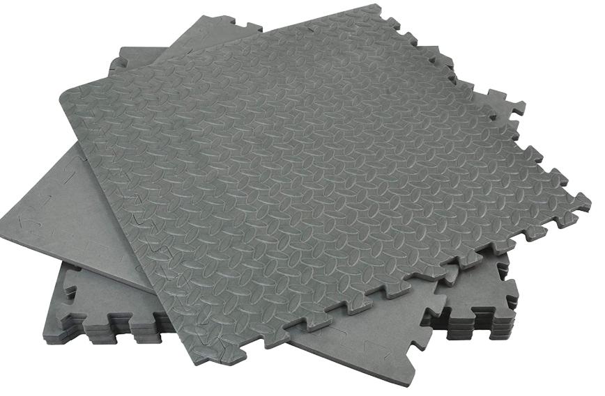 Rolson 60817 Floor Mat Set, 120 x 180 cm - 6 Pieces - £10 (Prime) / £14.49 (Non Prime) @ Amazon
