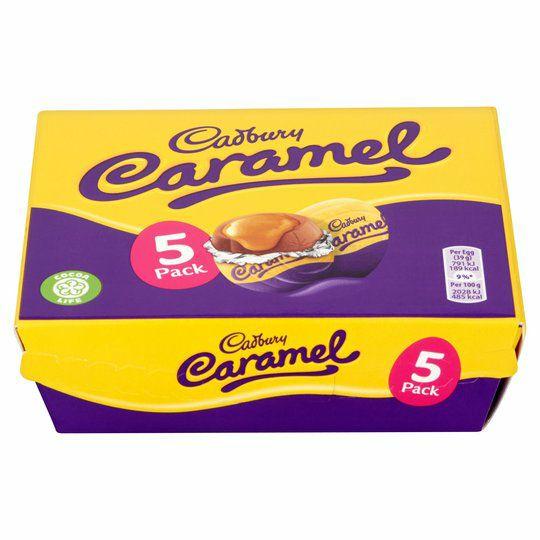 Cadbury 5 Caramel Egg 41p / Reese Peanut butter / Oreo and Creme Egg - 12p each @Tesco