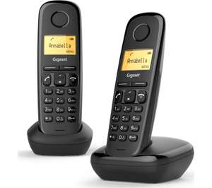 GIGASET A170 Cordless Phone - Twin Handsets £22.99 delivered at Currys PC World