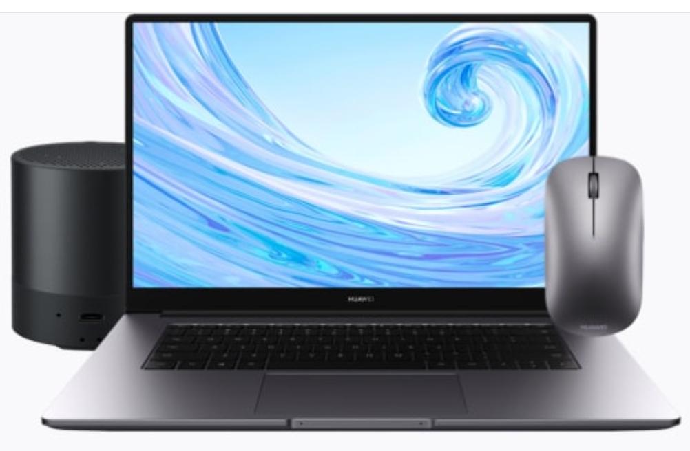 HUAWEI MateBook D 15 Laptop - FHD IPS / 8GB RAM / 256 GB SSD / Ryzen 5 3500U + FREE Mouse & Speaker- £549.99 delivered @ Huawei Store