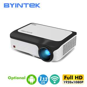 BYINTEK M1080 Full HD 1080p Projector WiFi, Bluetooth & Android OS for £172.14 delivered from UK @ AliExpress Deals / BYINTEK Official Store
