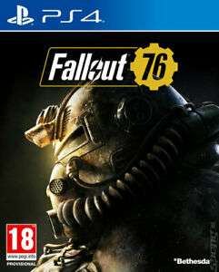 Fallout 76 (PS4) Refurbished £12.49 Delivered from Music Magpie (Ebay)