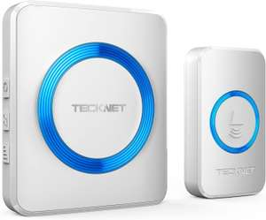 TECKNET Wireless Doorbell £10.99 - Sold by Mypontustore and Fulfilled by Amazon (+£4.49 Non-prime)