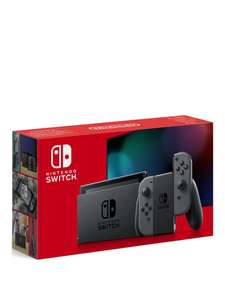Nintendo Switch Grey Console (Improved Battery) £279.99 @ Very (£3.99 P&P)