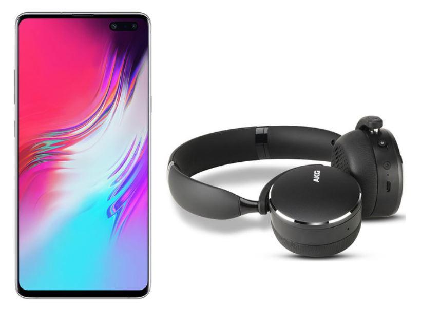 Samsung S10 5G + AKG Y500 Wireless Headphones £849.99 at Costco