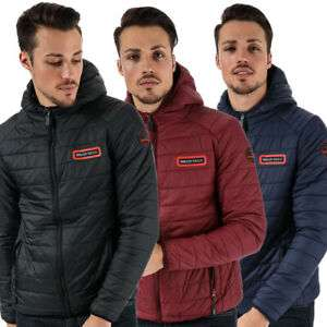 Mens Bear Max Grizzly Hooded Lightweight Puffer Jackets - £9.99 delivered @ bigbrandoutlet2015 ebay