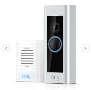 Ring Video Doorbell Pro with chimes and transformer £160.95 Delivered @ Argos