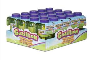 20 x 8oz bottles of Gazillion Bubbles - £4.38- Sold and Despatched by Accessory-Shop @ Amazon