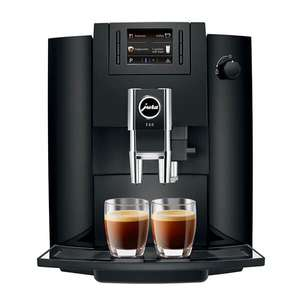 Jura E60 15082 Automatic 15Bar Bean to Cup Coffee Machine & Milk Frother - Black + 2 Year Warranty - £479 (£469 New Customers) @ AO