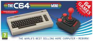 The Commodore 64 C64 Mini Console, £34.99 delivered at IWOOT