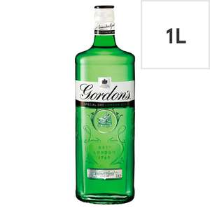 Assorted Spirits One Litre - £16 @ Tesco (Min basket £40 + up to £4 delivery)
