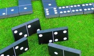 Giant Garden Dominos & Other Games - £13 Delivered @ Secret Sales