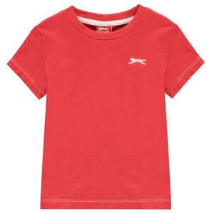 Kids Slazenger t-shirts at Sports Direct from £1.50 (£4.99 delivery)