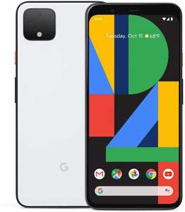 Google Pixel 4 Smartphone 64 GB (White) - £428.25 (£415.80 w fee free card) @ Amazon DE