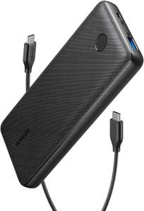 Anker PowerCore Essential 20000 PD Power Bank, 20000mAh USB-C Power Bank 18W £26.99 Sold by AnkerDirect and Fulfilled by Amazon.