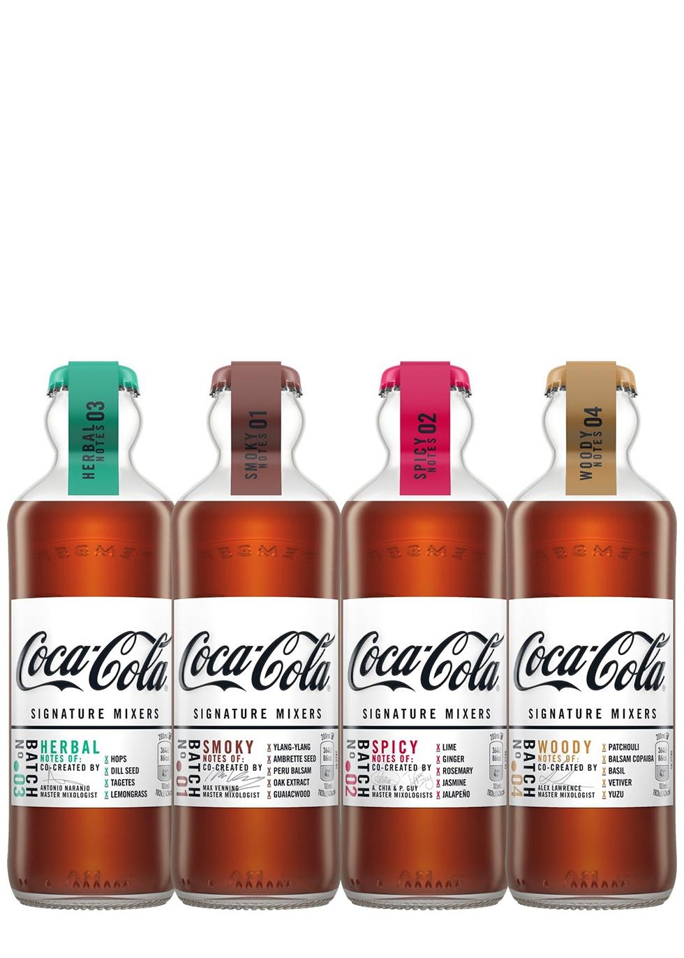 Coca-Cola Signature Mixers - 4 Flavours - £1.50 each Delivered @ Harvey Nichols