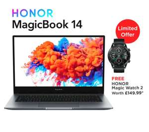 "Honor Magicbook + Magic Watch 2 - 14"" Full HD Laptop, Ryzen 5-3500U, 8GB RAM, 256GB SSD - £529.99 delivered from laptopoutletdirect on ebay"