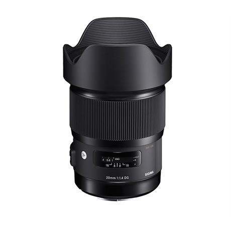 Sigma 20mm F1.4 DG HSM Art (Nikon fit) Camera Lens - £319 Delivered @ Park Cameras