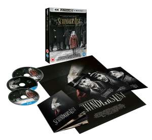Schindler's List 4K collectors edition - £13.49 with code @ Zoom