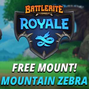 Free Battlerite Royale: Zebra Mount Steam Keys
