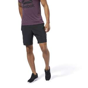 Reebok Elements Woven Shorts in Black, Grey or Navy £10.45 delivered with code @ Reebok