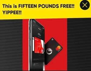 Free Curve card and £15 sign up bonus with code @ Curve (Bonus £15 received after first purchase)