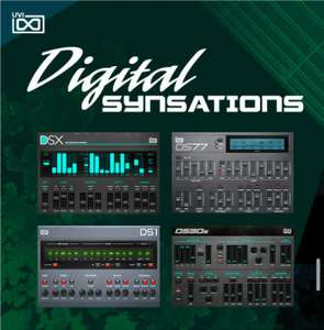 UVI is offering Digital Synsations for FREE to all PreSonus users, through April 16th, only!