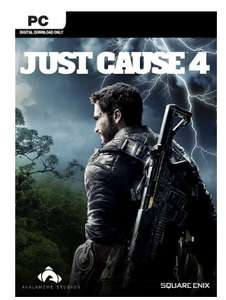 Just Cause 4 PC + DLC (PC) on STEAM available GLOBALLY @ CDKeys.com - £7.99
