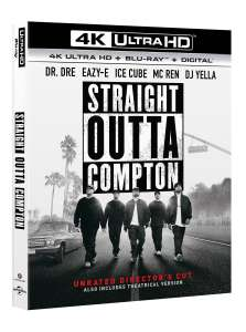Straight Outta Compton - Director's Cut (4K Ultra HD + Blu-ray + Digital Download) - £8.99 with code @ Zoom