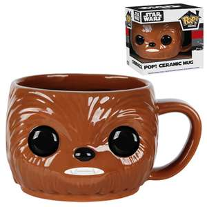 Funko Pop Chewbacca Mug - £4.50 + £2.99 delivery at Popinabox.Com