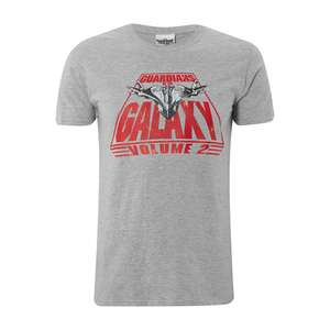 Marvel Men's Guardians of the Galaxy Vol. 2 Men's T-shirt - £6.49 + Free Delivery Using Code @ Zavvi