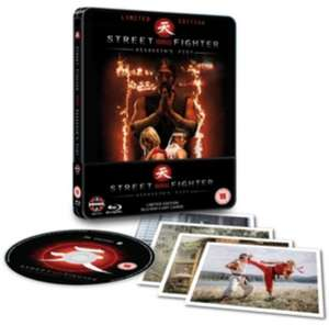 Street Fighter: Assassin's Fist Limited edition steel book £3.99 + £2.49 del @ WHSmith