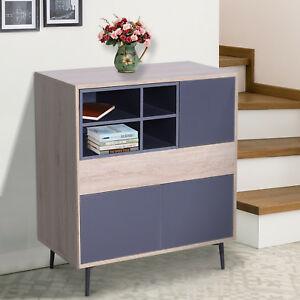 Elevated Storage Cabinet Sideboard Chest Cupboard - £43.19 delivered, using code @ eBay / mhstarukltd