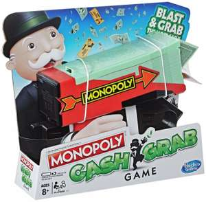 Monopoly Cash Grab Game from Hasbro Gaming £4.99/Laser X 9 Built-in Games Gaming Tower £9.99 Delivered @ Argos / eBay